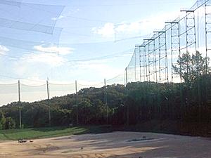 名古屋市千種区での屋外提携ゴルフ練習場