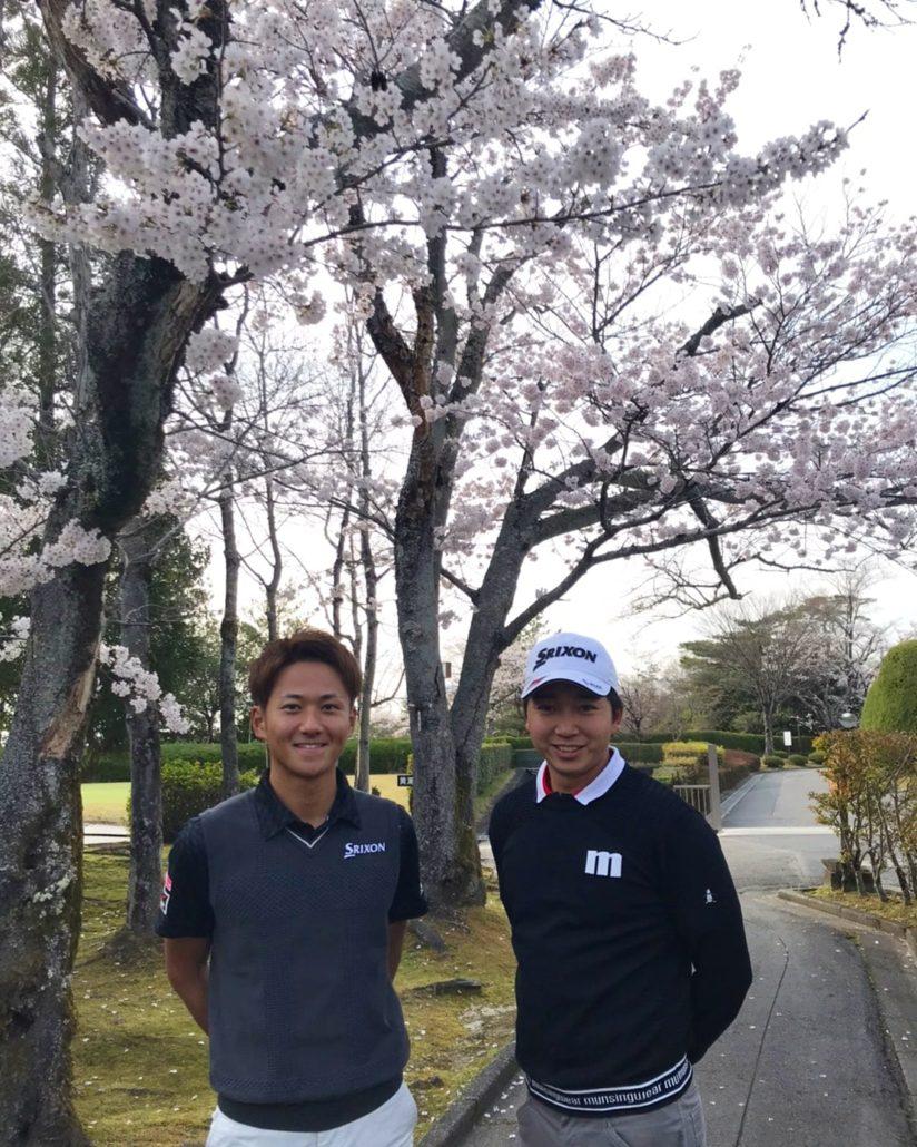 プロゴルファー 小木曽プロ 小木曽喬 大澤和也 大澤和也プロ ゴルフスクール 桜 ツアープロ